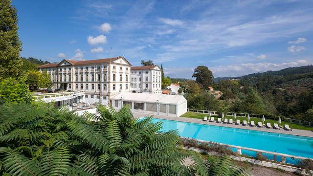 Escapada con cena y acceso a la zona relax en la ciudad balneario portuguesa de Caldas da Felgueira