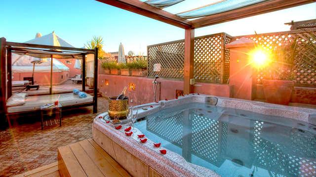 Bienestar con masaje en el corazón de Marrakech (desde 3 noches)
