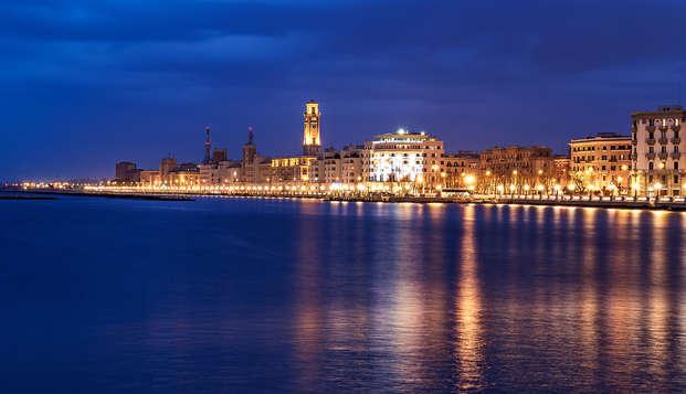 Aux portes de Pouilles en bord de mer à Bari