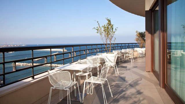 Dîner dans un restaurant local centre de Bari