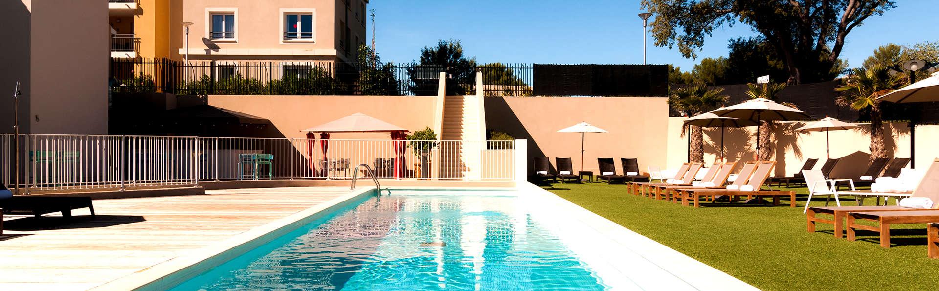 Escapade détente avec massage dans un cadre superbement arboré aux portes de Montpellier