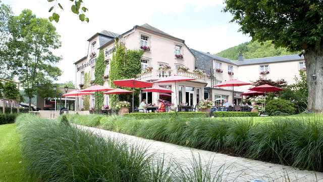Verblijf met diner in het hart van de Ardennen, inclusief toegang tot de abdij van Orval