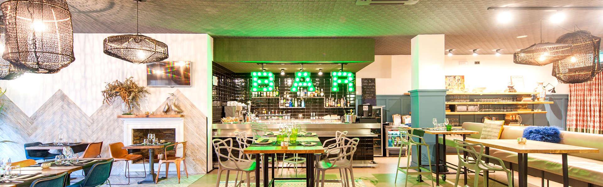 Hôtel au style vintage et industriel avec cocktail en plein cœur de Mataró (à partir de 2 nuits)