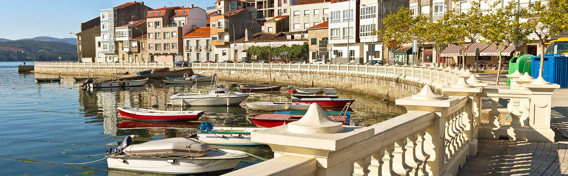 Escapada hotel con desayuno incluido a 600m de la playa en las Rías Baixas