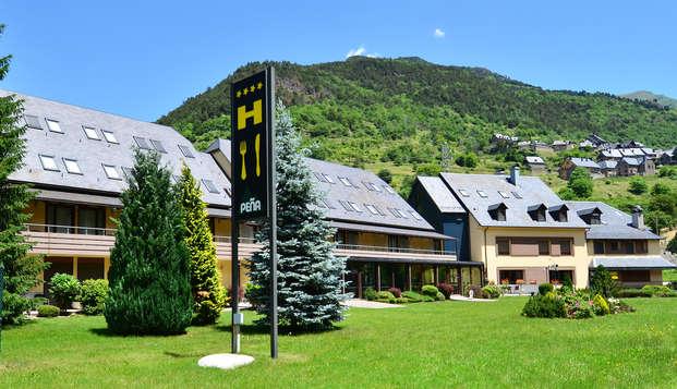 Escapada con cena y acceso a la zona relax en la Vall d'Arán