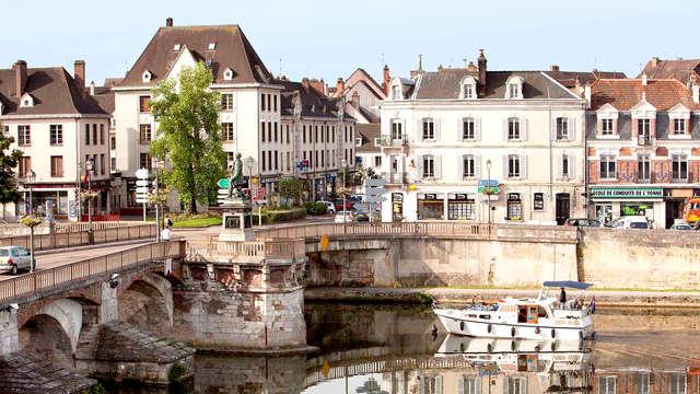 Familie uitje in het hart van de vallei van Yonne