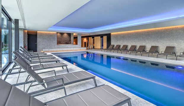 Verwennerij in de spa in nieuw designhotel vlakbij Luik