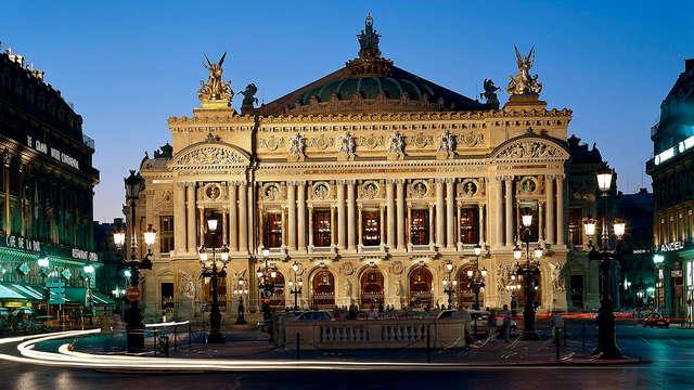 Charme parisien et entrées au Palais Garnier