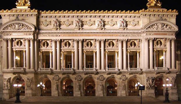 Découverte de l'Opéra Garnier et séjour aux pieds du Sacré-Cœur