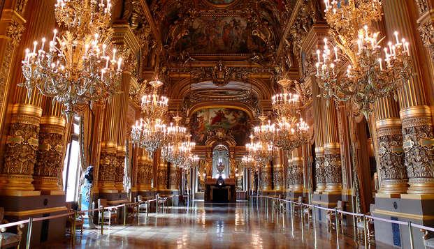 Découvrez les secrets de l'Opéra Garnier lors d'un séjour 3* au cœur de Paris