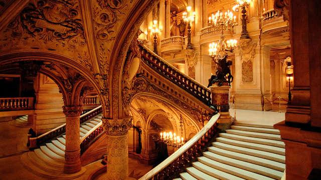 Visita de la famosa Opéra Garnier y alojamiento de 4* cerca de París
