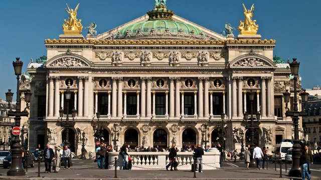 Séjour parisien et visite des coulisses du Palais Garnier