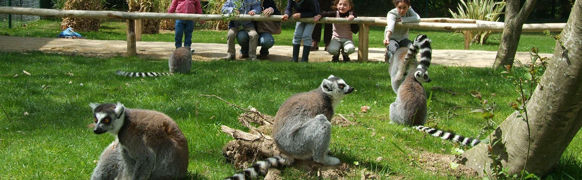 Séjour champêtre en famille et découverte du Zoo de la Bourbansais !