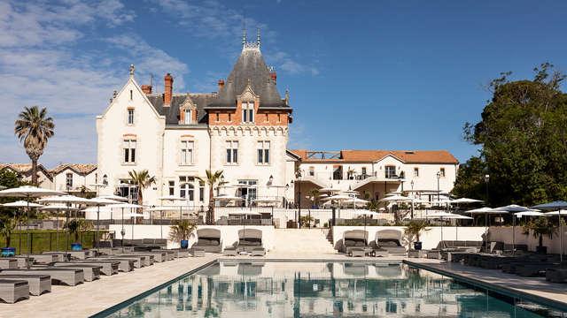 Experimenta la vida en un castillo alojándote en una habitación deluxe cerca de Béziers