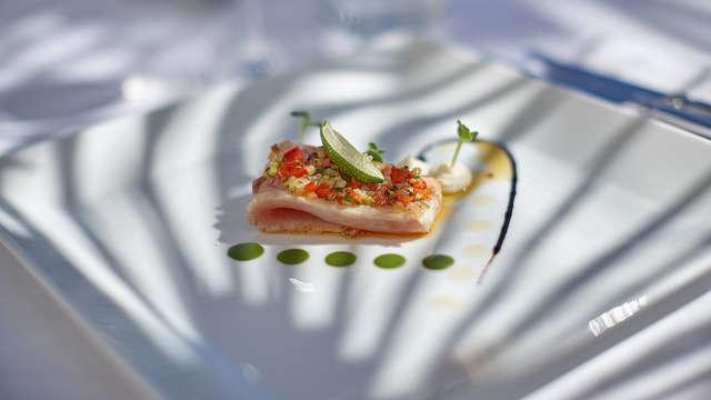 Vida palaciega y cena en el corazón de Occitania