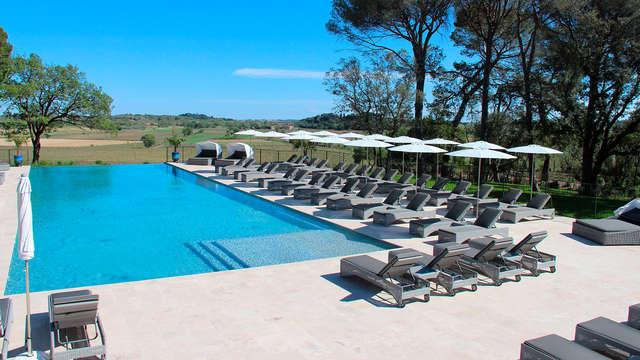 Oasis de bienestar en un precioso castillo del Languedoc-Rosellón
