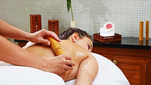 Escapade détente romantique dans une chambre panoramique avec accès VIP au spa et aux soins