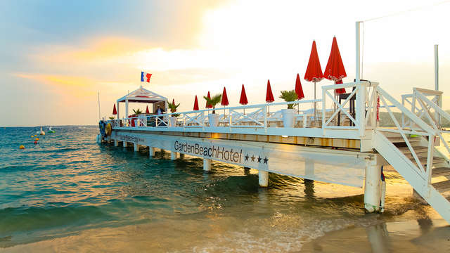 Farniente avec chambre vue mer à Juan-Les-Pins