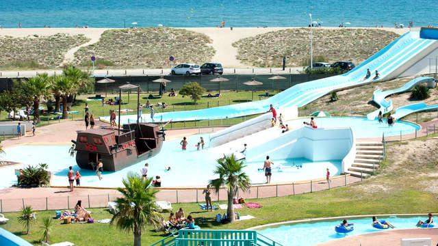 Entrée au parc Aqualand de Port Leucate et séjour à Canet en Roussillon