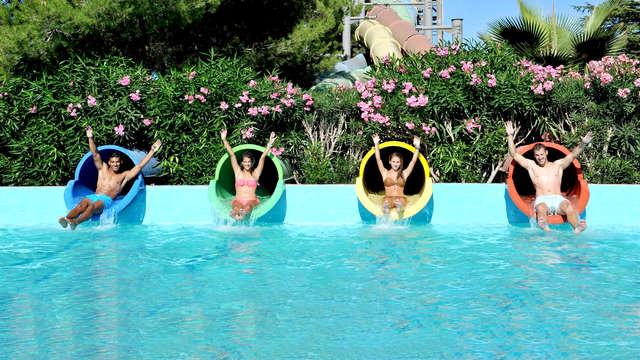 Entrée au parc Aqualand Fréjus et séjour 4* à Saint-Raphaël