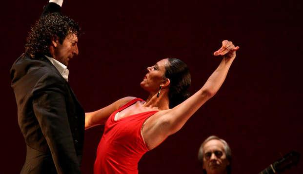 Escapada con entradas a espectáculo de flamenco en Madrid
