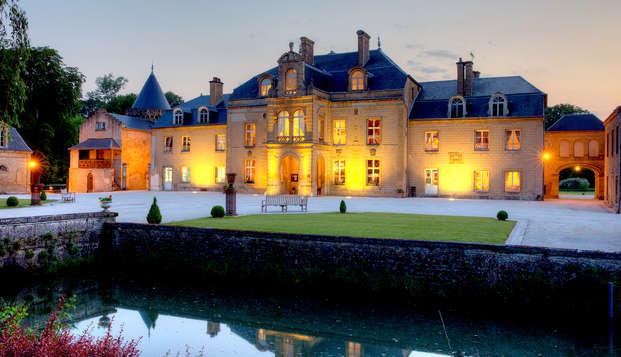 Amour et relaxation au château dans les Ardennes françaises