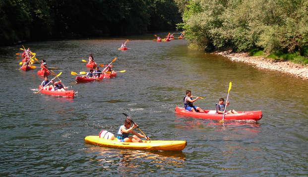 Especial aventura con descenso al río Sella