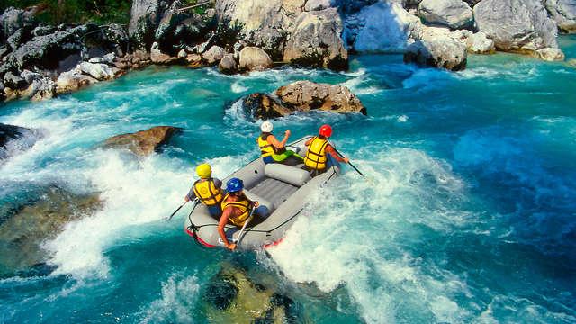 1 Descenso en canoa/kayak para 2 adultos