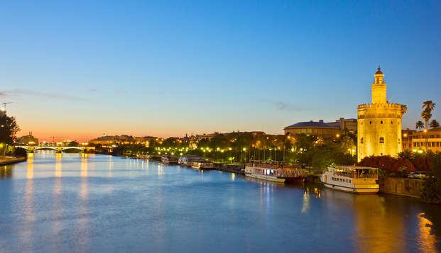 Relax en privado con bañera de hidromasaje en Sevilla