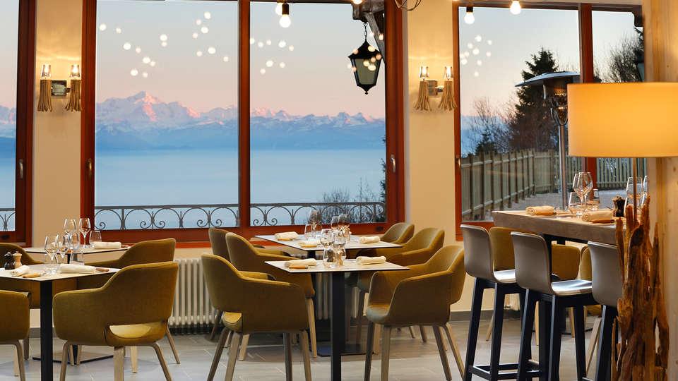 Hotel The Originals La Mainaz Restaurant & Resort (ex Relais du Silence) - edit_restaurant4.jpg