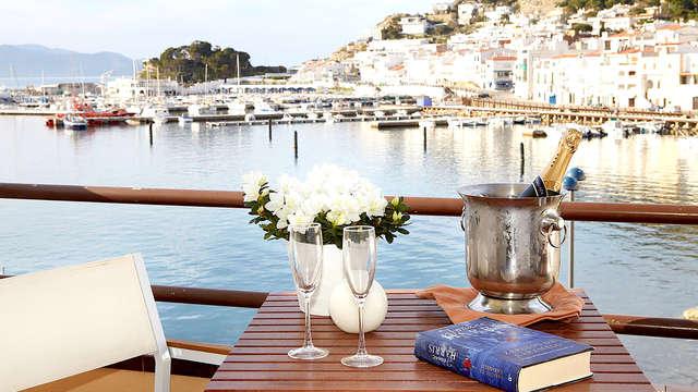 Escapada gourmet a la Costa Brava: Cena a un paso del mar