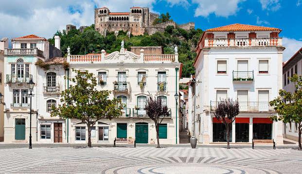Escapada romántica con cena en el centro de Portugal