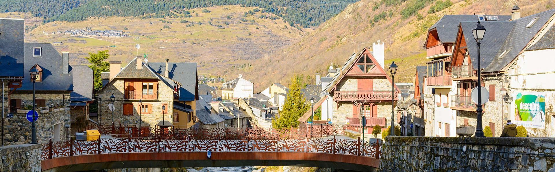 Echappez-vous au coeur des Pyrénées en demie-pension à Vielha