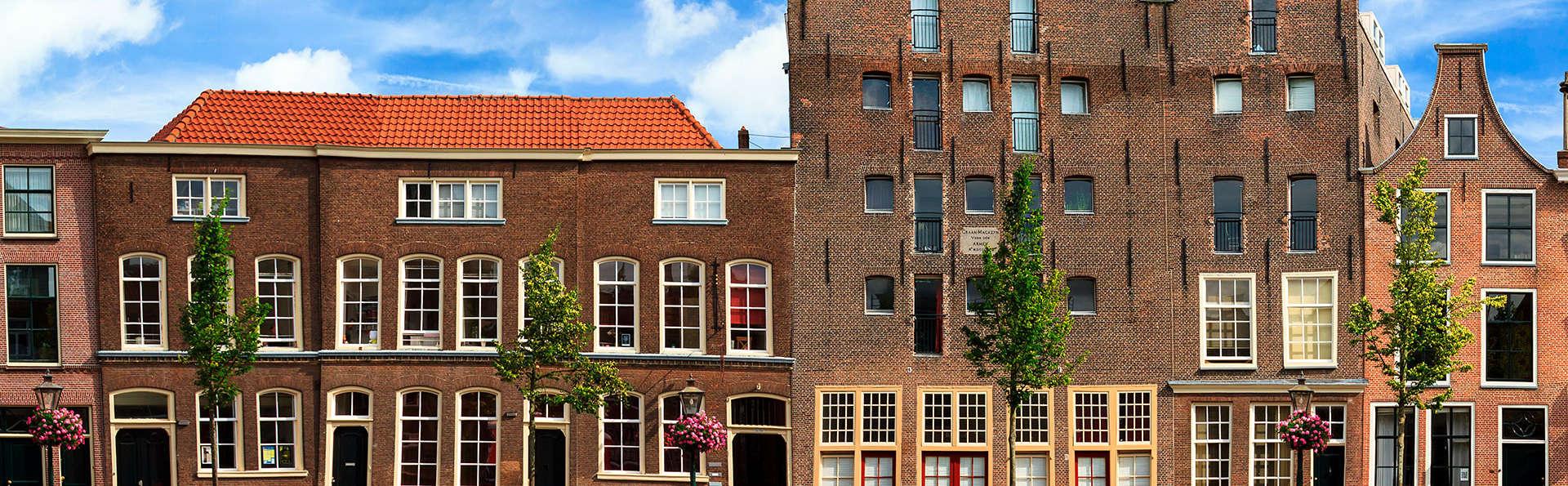 Geniet van een heerlijk 3-gangen diner in het hart van Leiden (2 nachten)
