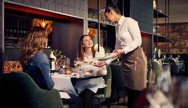 Minivakantie in Groningen met ontbijt en 3-gangen diner (2 nachten halfpension)