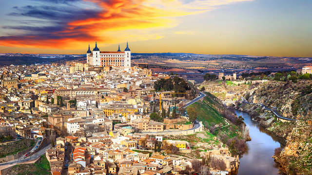 Uitstap met bezoek aan wijngoed in de buurt van Toledo