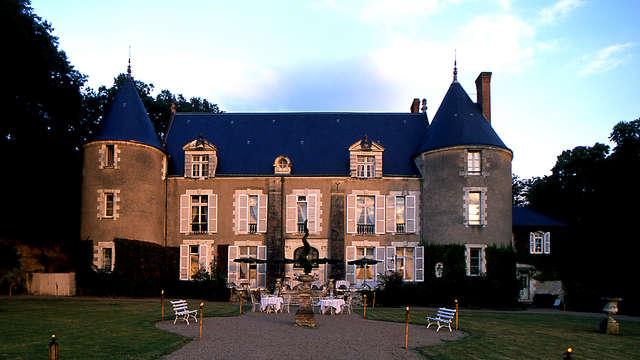 Encanto en un castillo cerca de Amboise