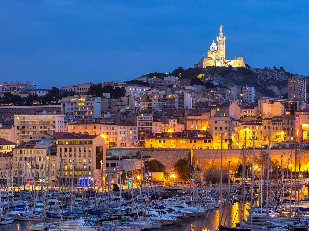 Séjour Bouches-du-Rhône - Escapade citadine tout près du Vieux-Port de Marseille  - 3*