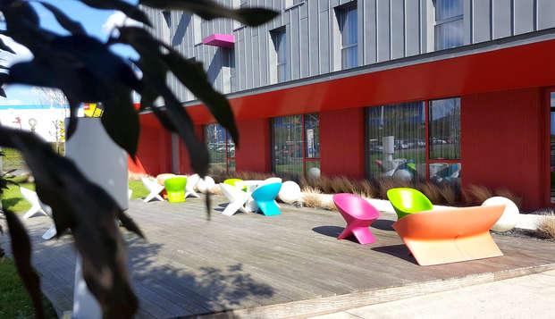 Reposez vous dans un hôtel design aux portes de Nantes