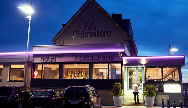La Cremaillere Cote Mer et Hotel Cote Jardin - NEW front