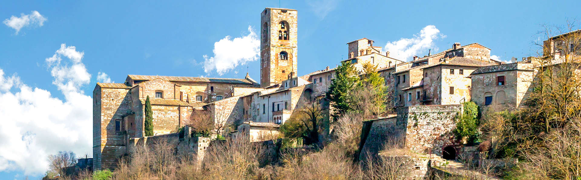 Repos en Toscane dans un fascinant village médiéval à Colle di Val d'Elsa