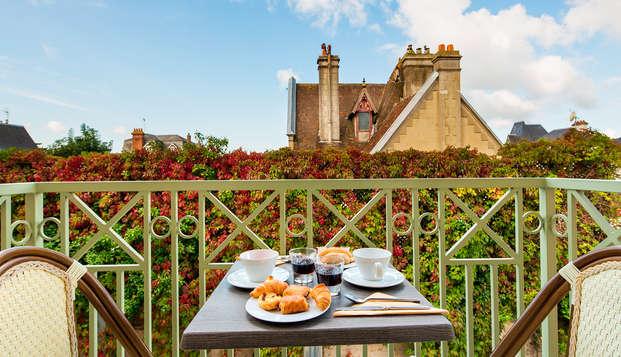 La Closerie Deauville - NEW breakfastbalcony