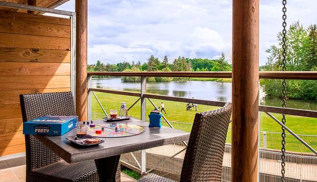 Golf Resort Spa Domaine Cice Blossac - garden view