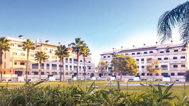 Déconnexion près de la mer dans un luxueux complexe d'appartements à Òliva
