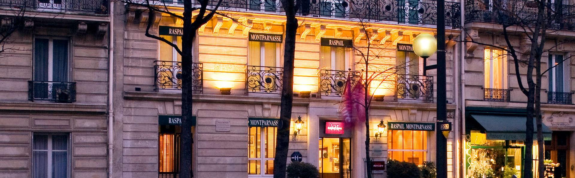 Mercure Paris Montparnasse Raspail 4