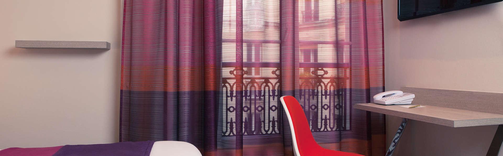 Ambiance moderne dans le quartier de Montparnasse