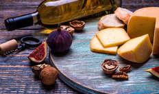 Degustazione di vini e formaggi