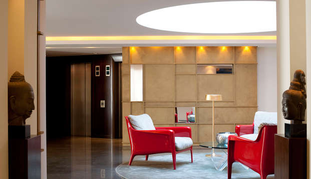 Hotel Beauchamps - lobby