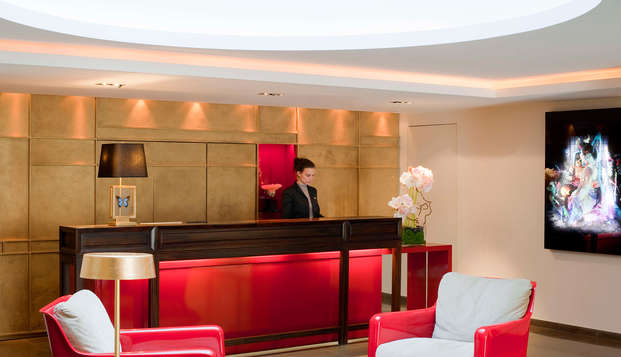 Hotel Beauchamps - reception