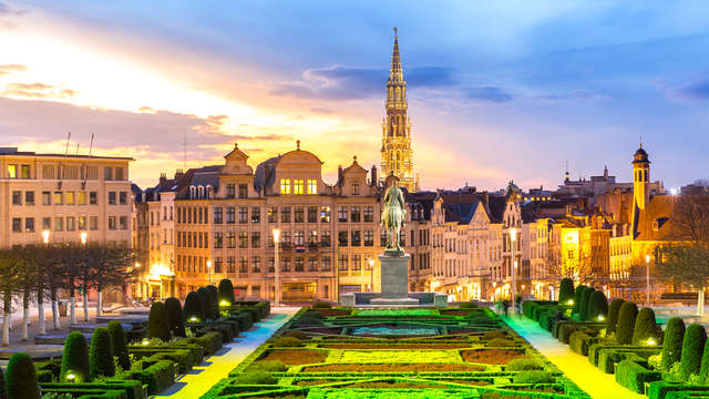 A Bruxelles in un hotel di design e birra di benvenuto (da 2 notti)